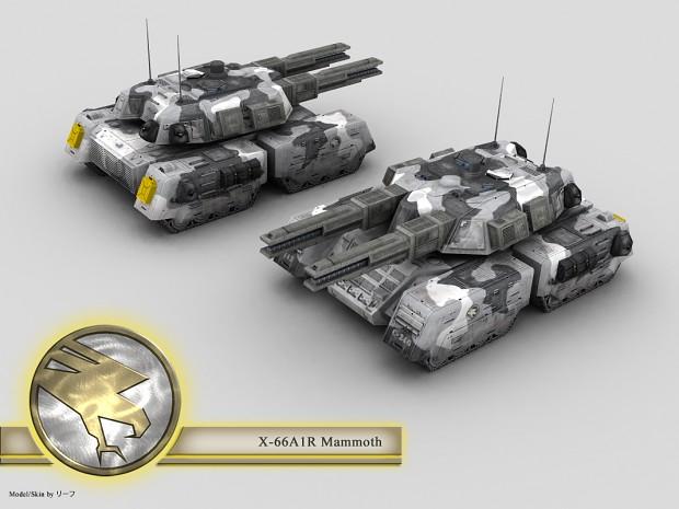 GDI Railgun Mammoth