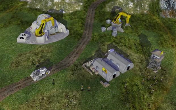 Beginnings of a GDI base