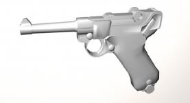 An WIP pistol
