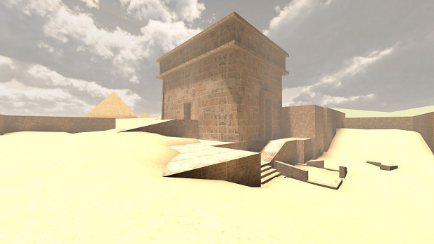 Level design - Egypt - WIP