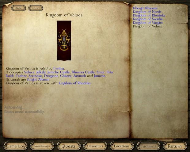 Own kingdom of Veluca