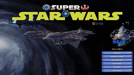 Fighting outside the Galaxy - Main Menu Battle