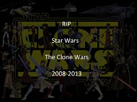 RIP Star Wars The Clone Wars