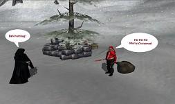 The Emperor meets Santa
