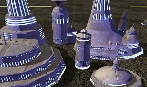 Slightly edited Alderaan Buildings