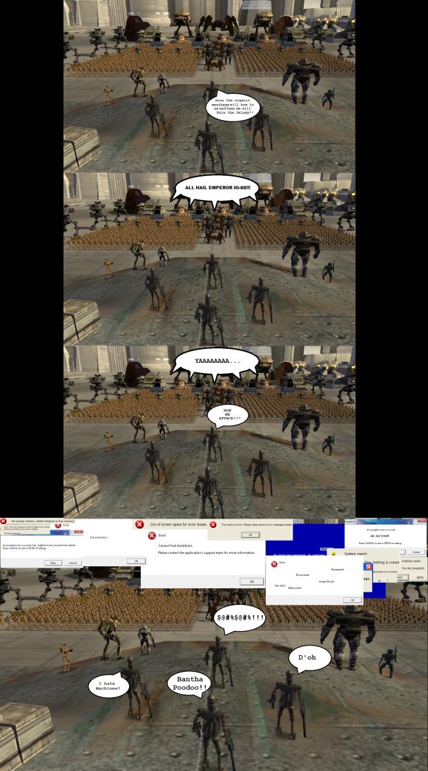 Droid Error