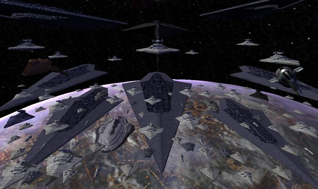 Lord Vader, the fleet the is awaiting orders, sir