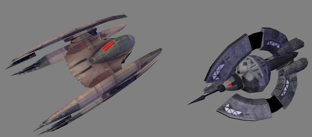 Vulture and Tri-fighter