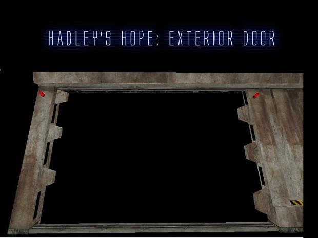 Hadley's Hope: Exterior Door