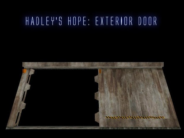 Hadley's Hope: Exterior Door