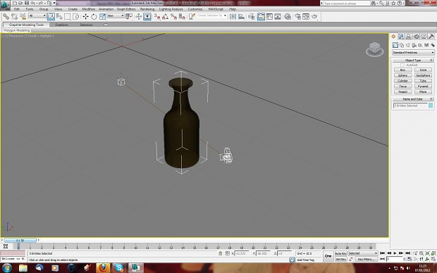 rum bottle fast model