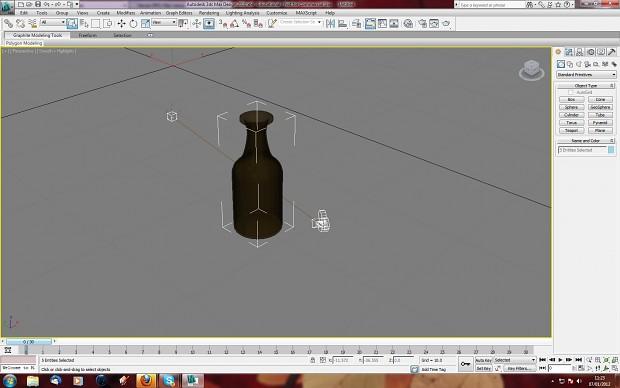 rum bottle fast model
