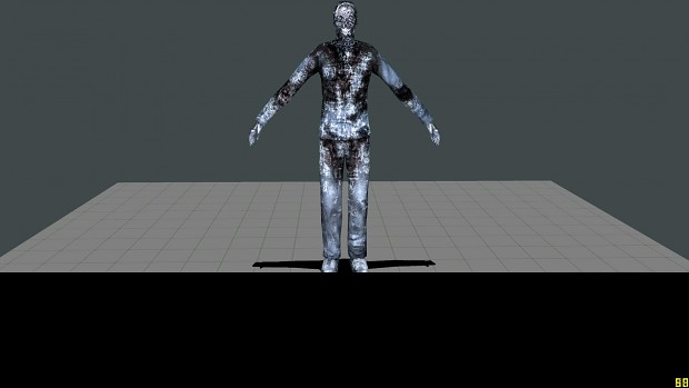 Frozen corpse Re-skin