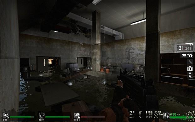 Flooded Room Image L4d Redemption Mod For Left 4 Dead