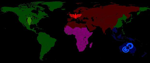 Schism World Map
