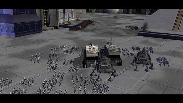 Coruscant Campaign mission screenies
