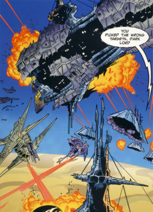 The great hyperspace war