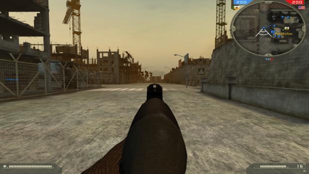 G3 ironsights image - Spec Ops Warfare mod for Battlefield 2
