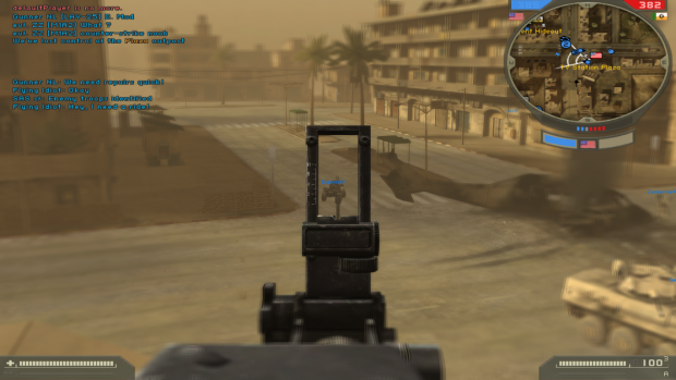 M60 ironsights image - Spec Ops Warfare mod for Battlefield
