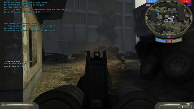MG36 ironsights