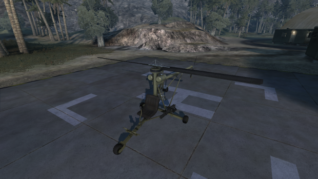 Mosquito ulralight helicopter
