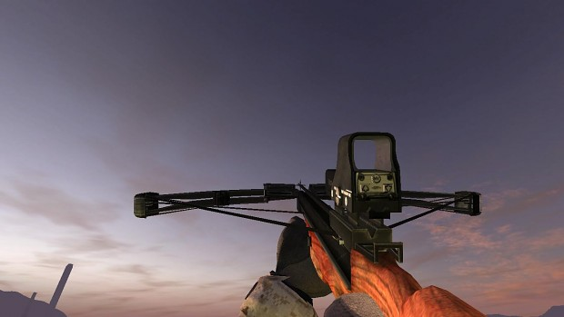 Crossbow with Eotech
