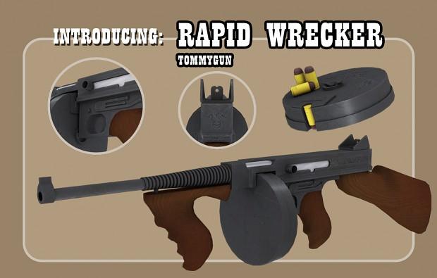 "Introducing the ""Rapid Wrecker"" Joker's left hand."