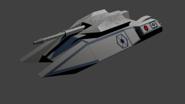 W.I.P. skin of the A-GAT (Hull)