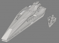 New Ship & Size comparison