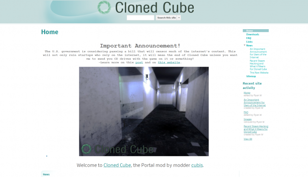 Cloned Cube
