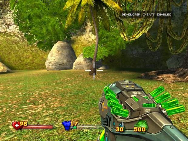 Green Plasma Rifle (ammo too!)