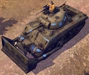 M4A3(75)W Dozer Tank