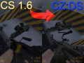 CS 1.6 to CZ:DS Graphical Overhaul