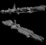 Corellian Destroyer Update