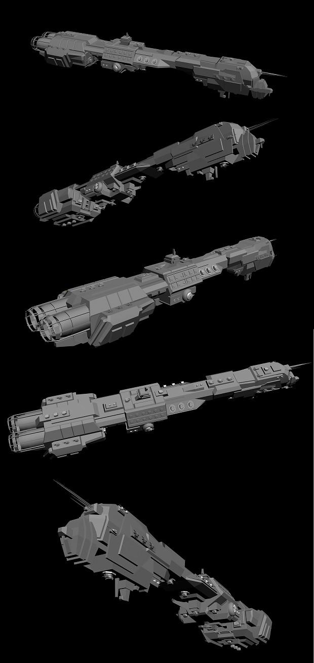 CB-920 Punisher Class Battleship