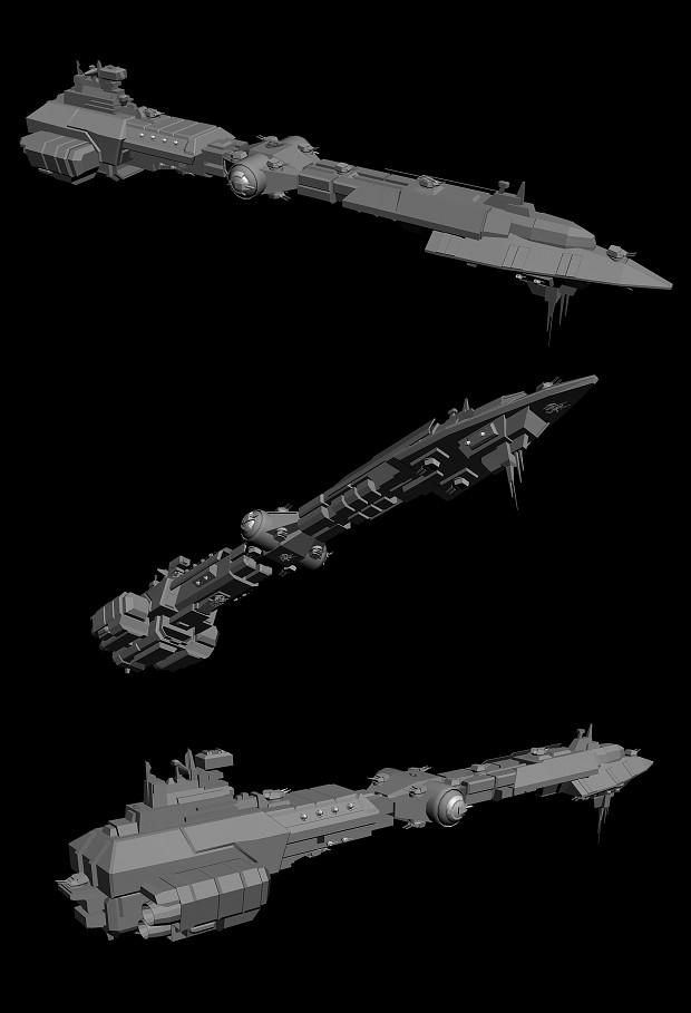 CBC-880 Reaver Class Battlecruiser