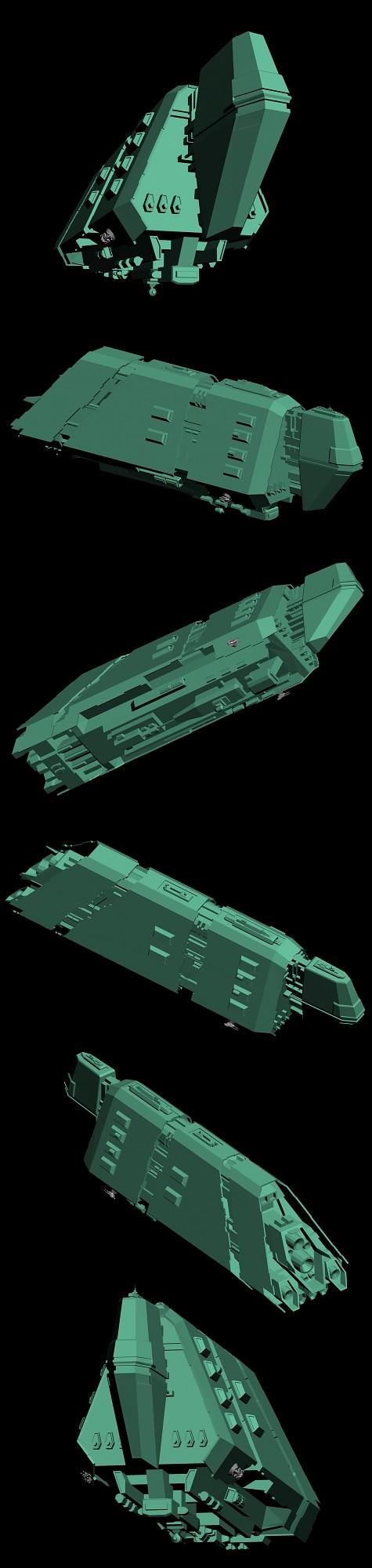 Gra'talaak Missile Frigate
