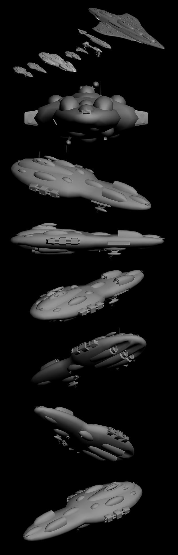 MC60 Torpedo Frigate