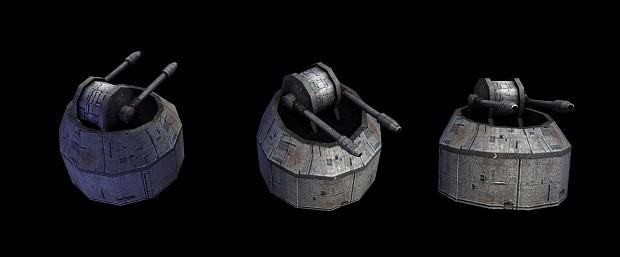 Dual Medium Turbolaser Turret (MTLT)