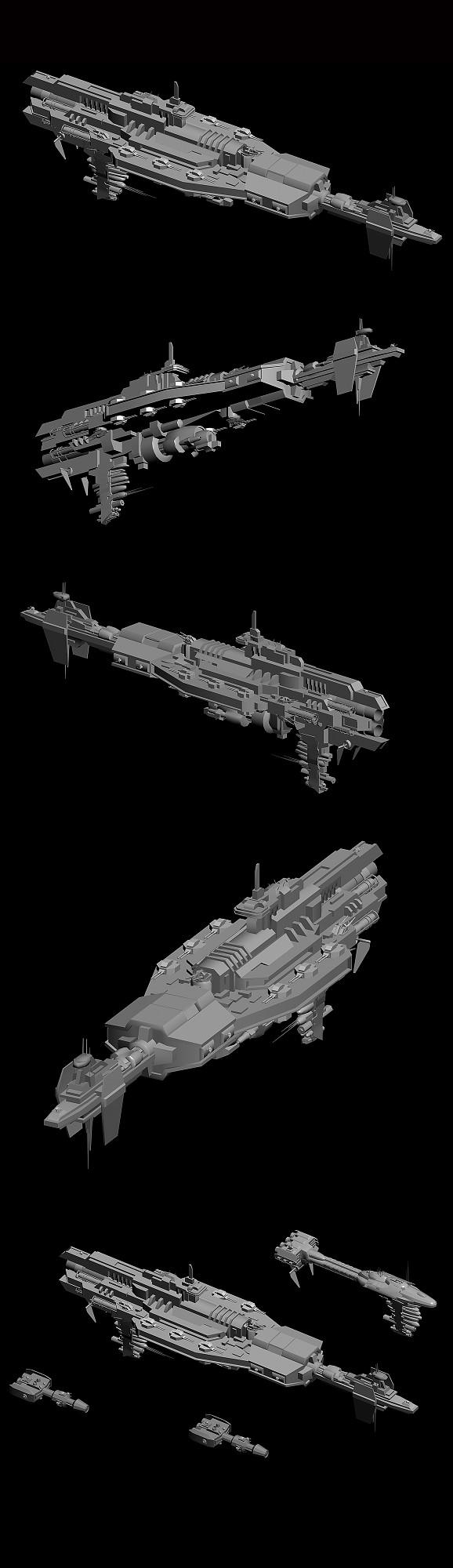 SV-103 Class Artillery Barge