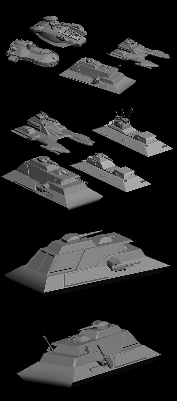 1 H Repulsor Tank Image Yuuzhan Vong At War Mod For Star