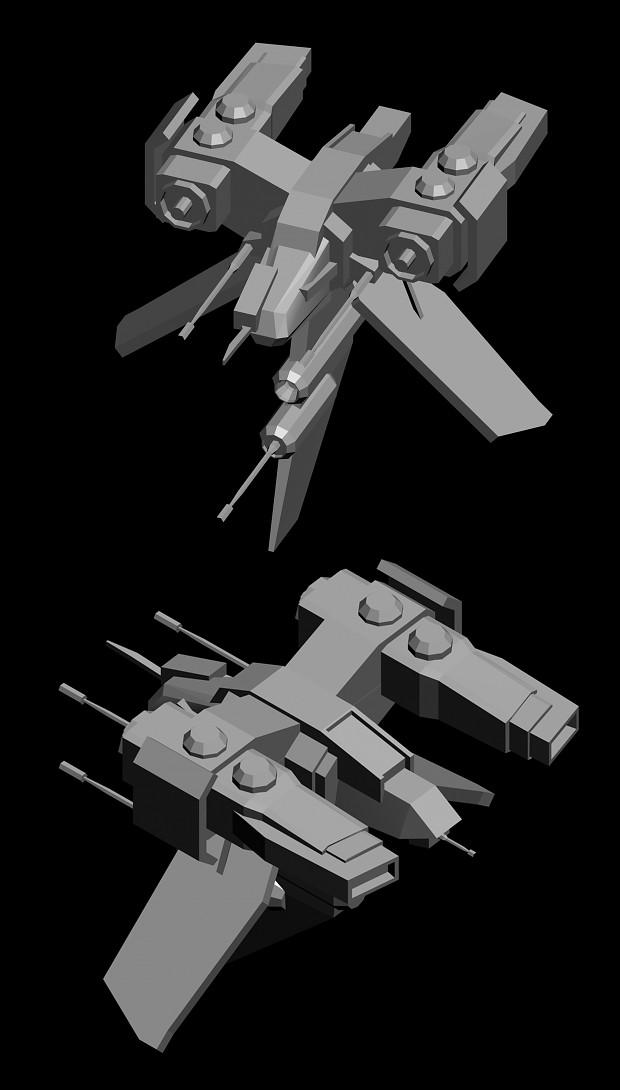 Merc Gunship