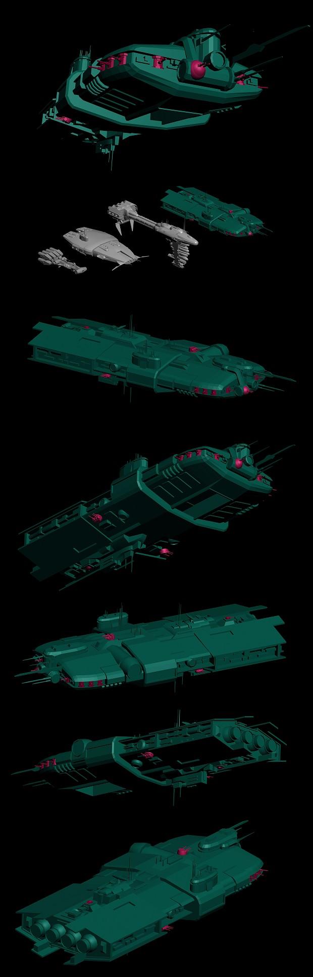 Yinchorrian Gun Frigate