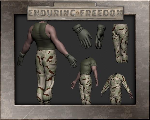 Soldier Sculpts