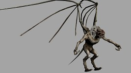 Demon - monster from Metro 2033