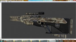 Sniper rifle reskin