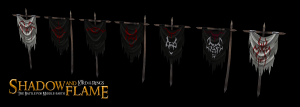 Mordor Banners