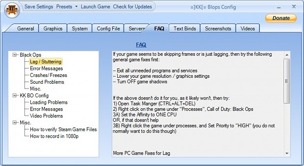 =]KK[= BO Config Tool Preview Screens