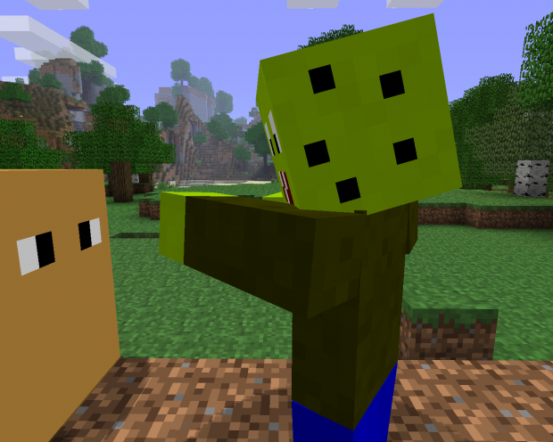 Updates Image Plants Vs Zombies Mod For Minecraft Mod Db