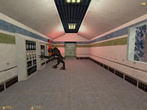 Lab-B Corridor